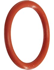 """010 Silicone O-Ring, 70A Durometer, Red, 1/4"""" ID, 3/8"""" OD, 1/16"""" Width (Pack of 100)"""