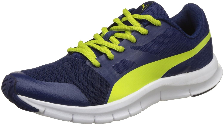 Puma Boy's Flexracer Jr Blue Sneakers