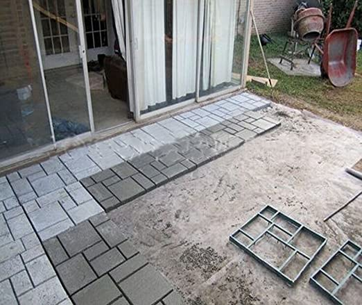 Amazon.com : Yosoo DIY Driveway Paving Brick Patio Concrete Slabs Path Garden Walk Maker Mould : Garden & Outdoor