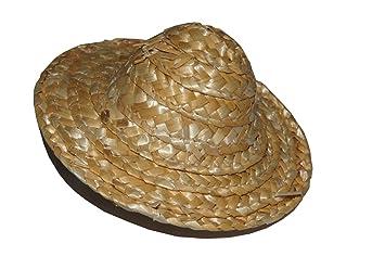 handicaps structurels la plus récente technologie bien connu KIM - Mini Chapeau de Paille Conique 8cm Lot de 4