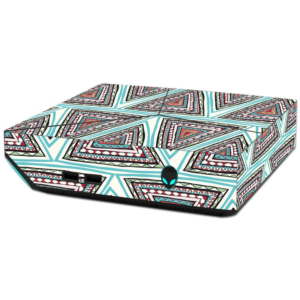 MightySkins Skin For Alienware Steam Machine - Aztec Pyramids   Protective, Durable, and Unique Vinyl Decal wrap cover   Easy To Apply, Remove, and Change Styles   Made in the USA