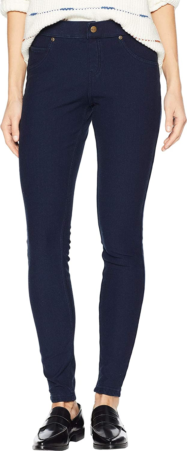 a62221481f6452 HUE Women's Fleece Lined Denim Leggings Ink Wash Small 30 30 at Amazon  Women's Jeans store
