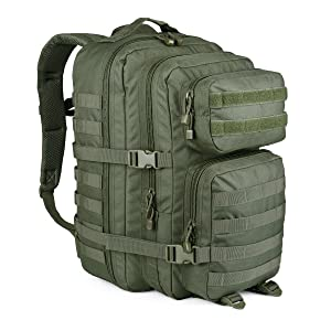 WIDEWAY Military Tactical Backpack 50L Survival Gear Backpacking Large Hydration Molle Bug Out Bag 3 Day Assault Pack Rucksacks Daypack for Outdoor Travel Hunting Camping Hiking Shooting