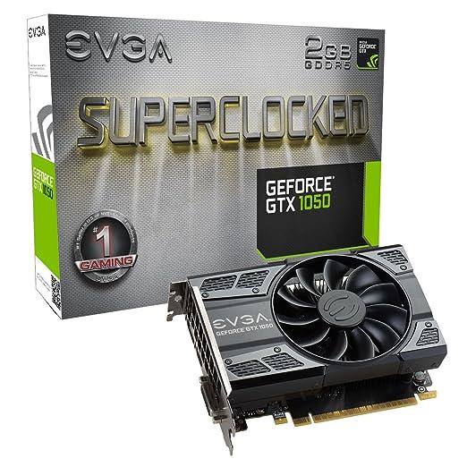 2 opinioni per EVGA NVIDIA GeForce GTX 1050SC Superclocked gioco 2GB di memoria GDDR5128Bit