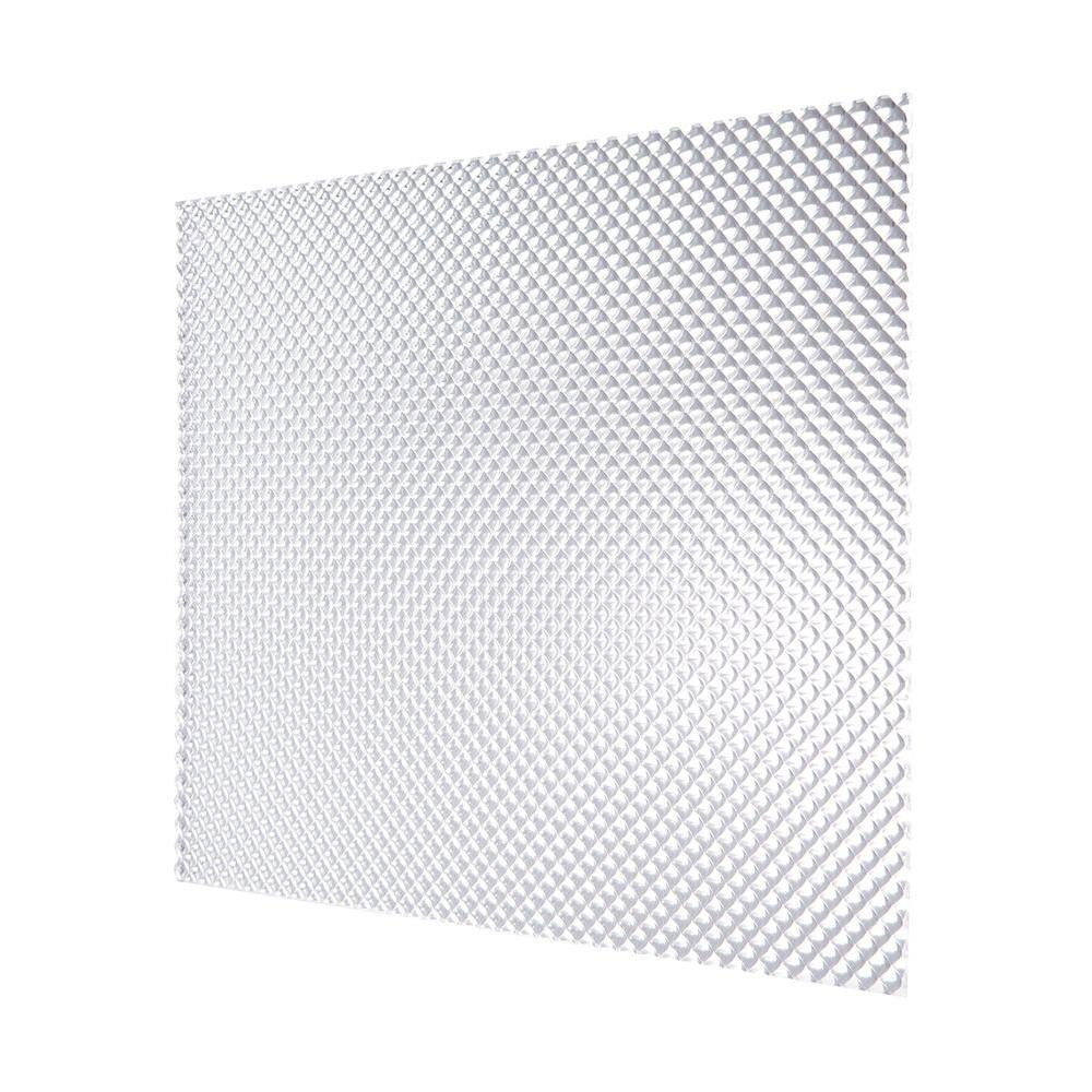 2 ft. x 4 ft. Acrylic Clear Premium Prismatic Lighting Panel (5-Pack)