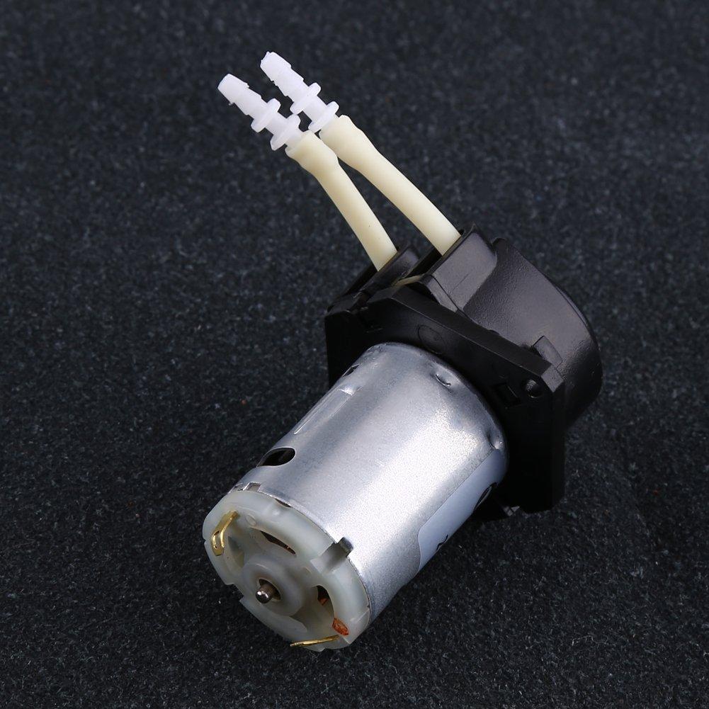 Dosing Pump 12V DC Peristaltic Liquid Pump Hose Pump Dosing Head for