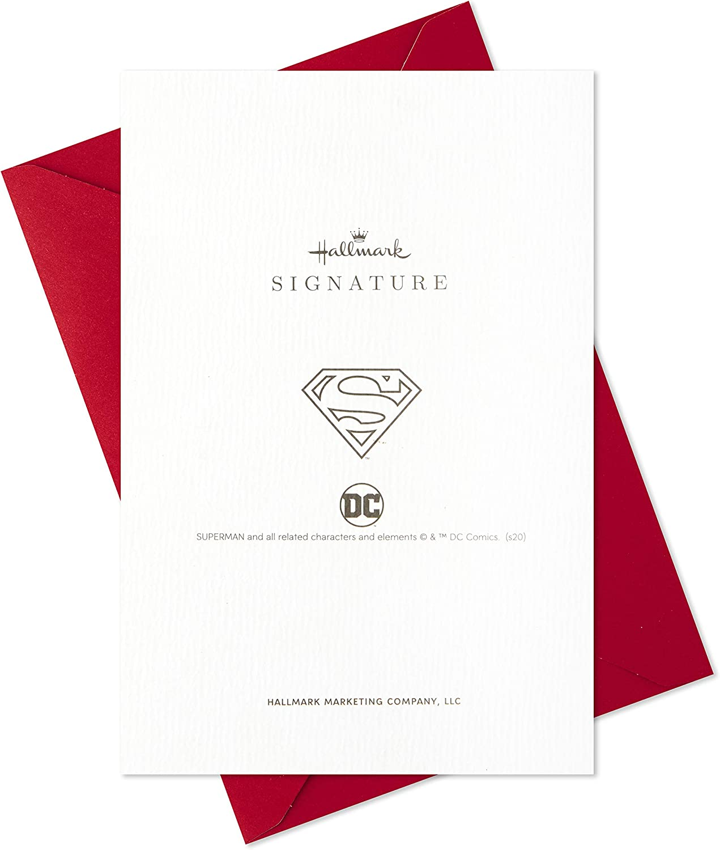 Hallmark Signature Valentines Day Card for Husband Superman