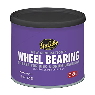 Sta-Lube SL3111 New Generation Wheel Bearing Grease for Disc and Drum Brakes - 14 wt. oz.: Sports & Outdoors
