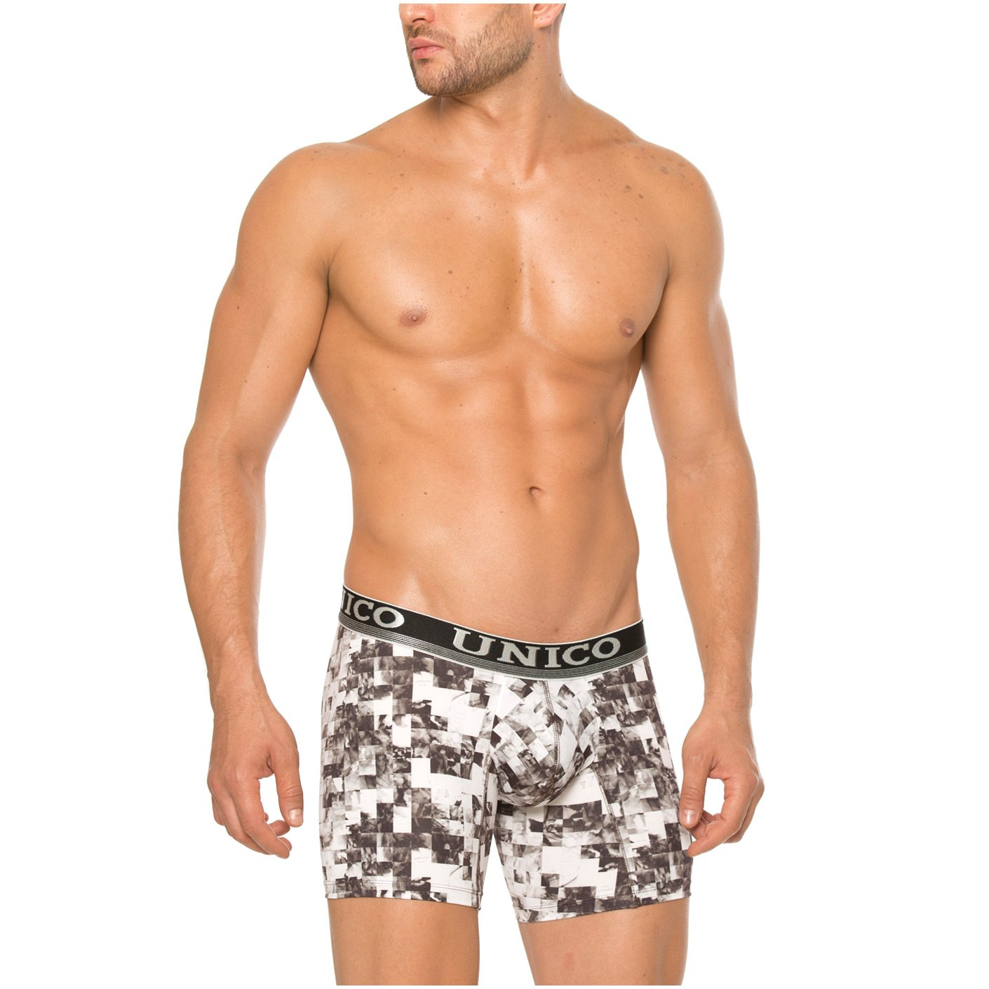 Mundo Unico Colombian Underwear Men Trunk Cotton Medium Boxer Brief Print at Amazon Mens Clothing store: