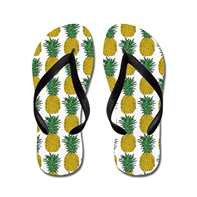 e223c59d0b6cba CafePress - All Over Pineapple Pattern - Flip Flops