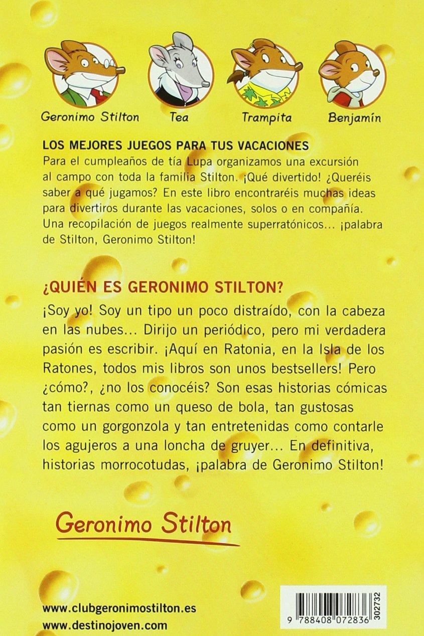 Los mejores juegos para tus vacaciones: Geronimo Stilton 28: Amazon.es: Geronimo Stilton: Libros