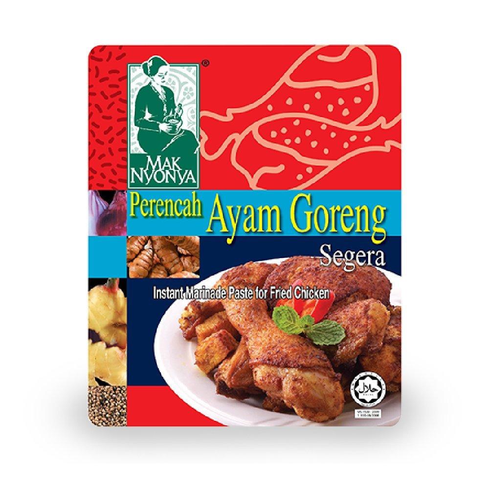 Mak Nyonya Fried Chicken Instant Marinade Paste 150g (628MART) (3 Packs)