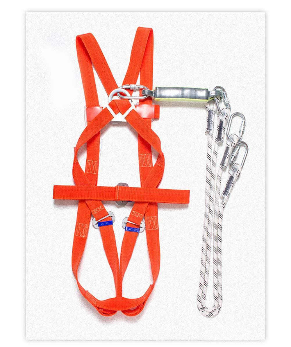 Q/&Z Arn/éS De Seguridad Antica/íDas Ajustable Al Aire Libre De Protecci/óN Amortiguador con Dos Arneses Cuerda para Arnes Seguridad
