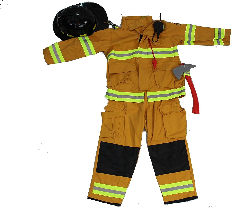 Boys Fireman Halloween Costume