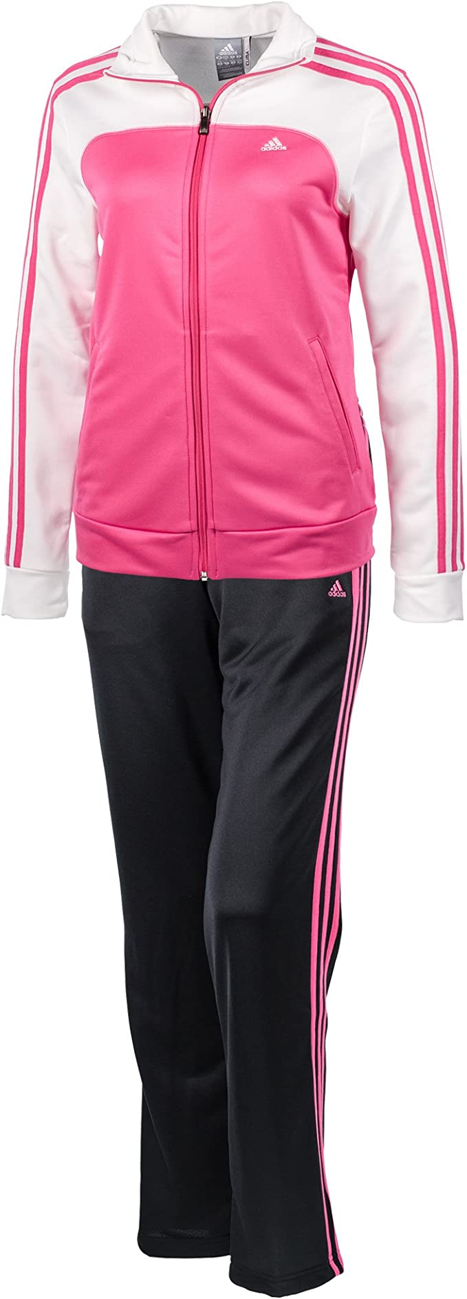 adidas 3S Young Knit Suit – Chándal para mujer women ClimaLite ...