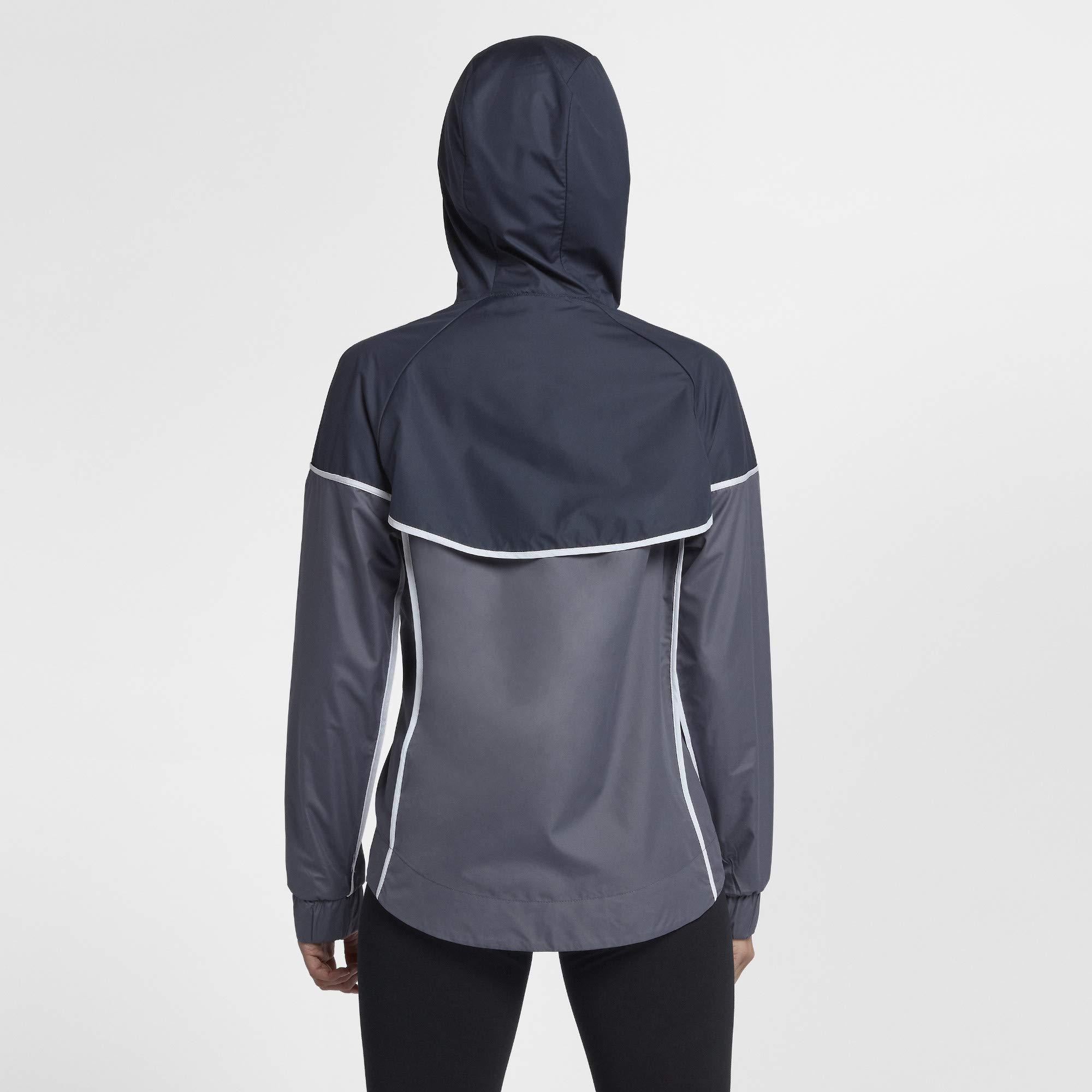 Nike Women's Sportswear Windrunner Jacket(Light Carbon/Thunder Blue, XS)
