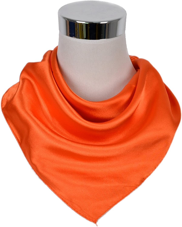 50cm UK/_Stone 100/% Seide Unisex Einfarbig Bandana Schal Halstuch 50
