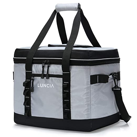 LUNCIA 30L(60can) Nevera Flexible Portátil Gran Capacidad ...