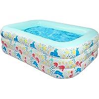 Piscina AONESY Piscina Inflable Grande para niños, Adultos, Interior Infantil, Exterior, jardín, Patio…