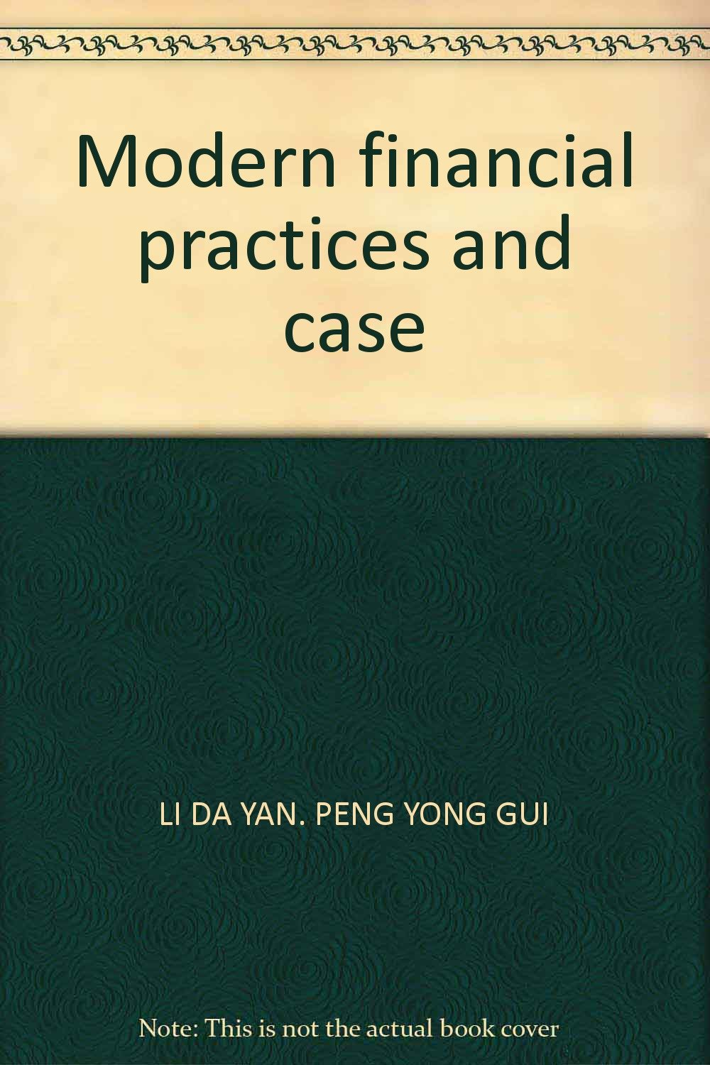 Modern financial practices and case pdf
