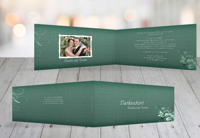 Kartenparadies Danksagung für Hochzeitsgeschenke Hochzeit Danke Din Liebeswunder, hochwertige hochwertige hochwertige Danksagungskarte Hochzeitsglückwünsche inklusive Umschläge   10 Karten - (Format  215x105 mm) Farbe  DunkelGelb B01N36GMJ5 | Nicht so teuer  d32364