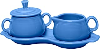 product image for Fiesta Covered Creamer and Sugar Set with Tray, Lapis