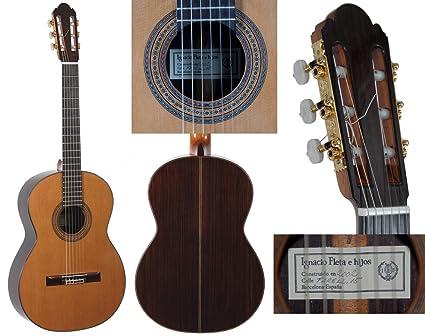 Guitarra clásica - Fleta de diseño de los planes de escala completa de los planes de