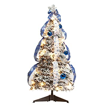 Amazon.com: Holiday PeakTM - Árbol de invierno con ...