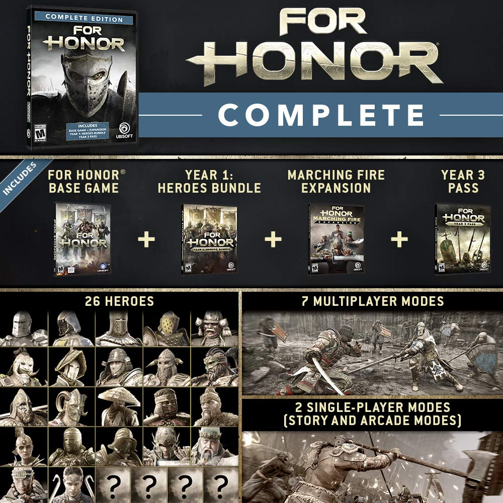 For Honor Complete Edition - Xbox One [Digital Code] by Ubisoft (Image #2)