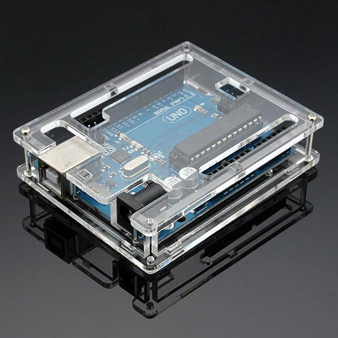 1 opinioni per Gaoxing Tech. Uno Caso R3 recinzione nuovo Gloss acrilico trasparente Computer