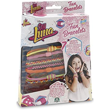 Soy Luna Disney Fun Bracelets 7 pieces Set As Seen on TV Original