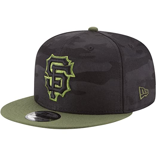 126e145d4a0 Image Unavailable. Image not available for. Color  New Era San Francisco  Giants 2018 Memorial Day 9FIFTY Adjustable Snapback Hat