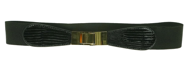 Style & Co Skinny Lizard Print Stretch Belt
