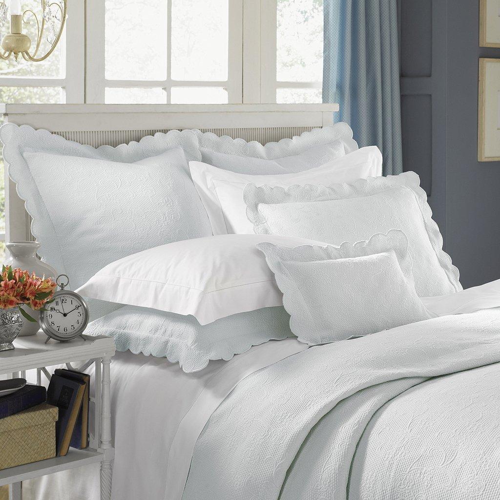 アリスby Sferra Twin Blanket Cover 69x90 SFE1622-16757 B005KRES38 ホワイト Twin Blanket Cover 69x90