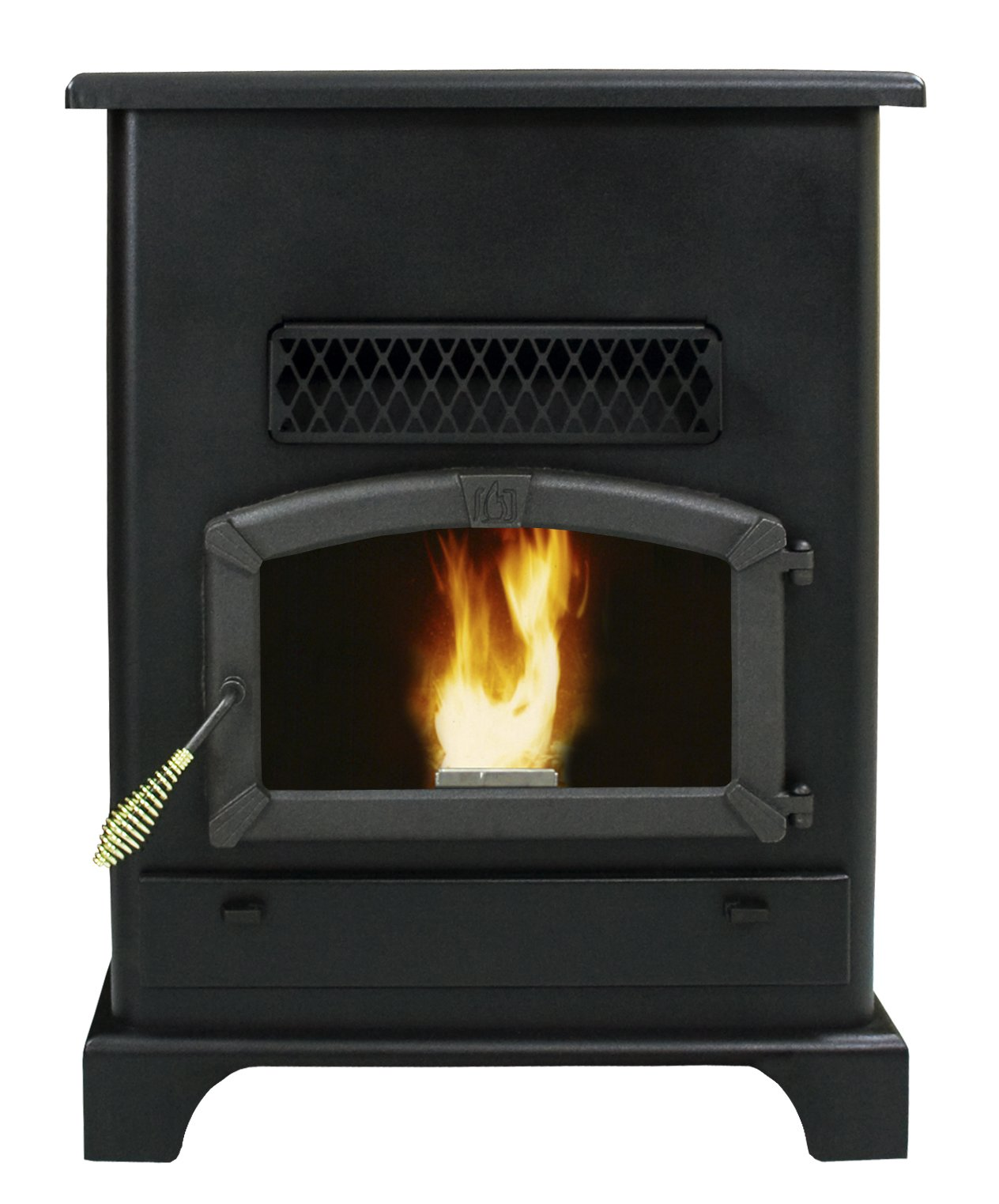 US Stove 5520 Pellet Stove with Ash Pan, Large by US Stove Company