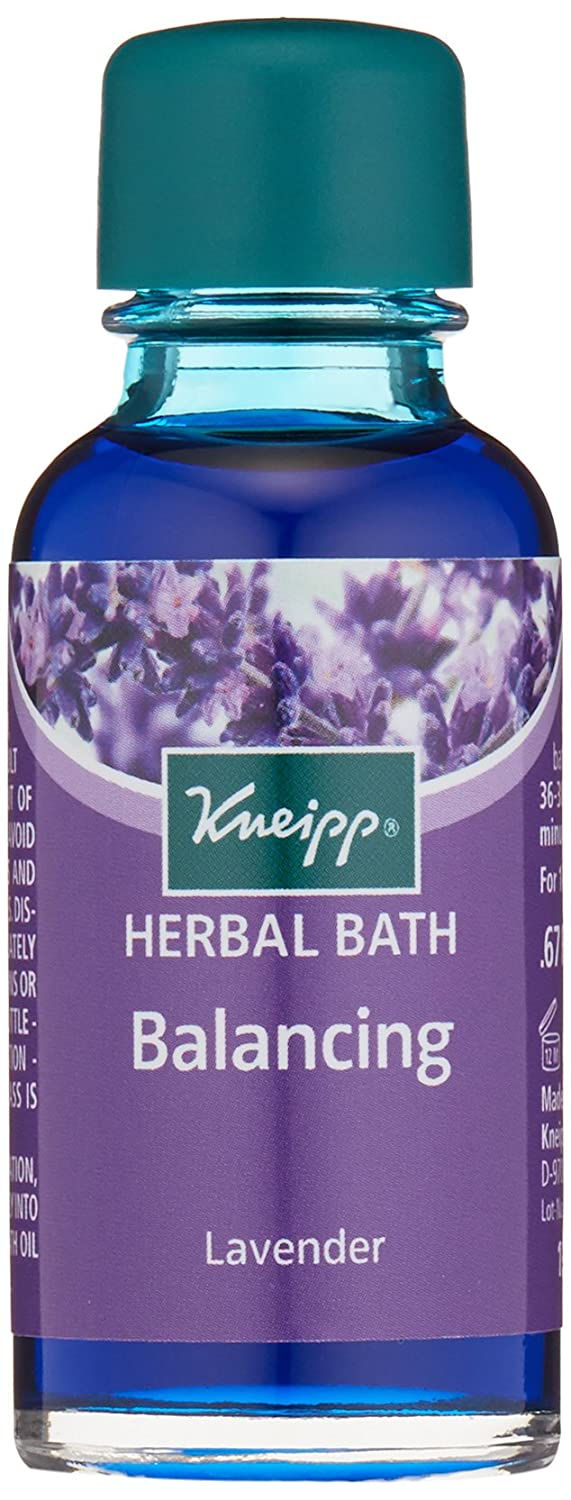 Kneipp Herbal Bath, Travel Size, Balancing, Lavender, 0.67 fl. oz. 4008233002552