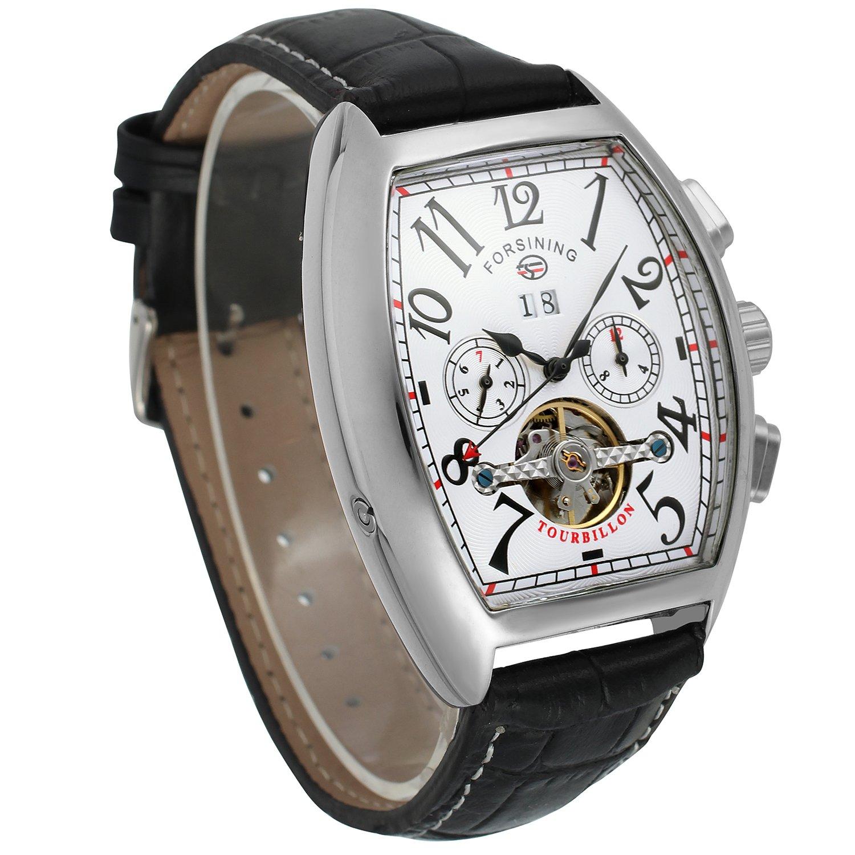 forsining Hombre Steampunk AutomáTico Tourbillon Reloj de Muñeca Calendario fsg9409 m3s4: Amazon.es: Relojes