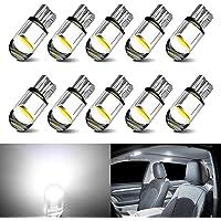 194 LED Bulbs White 168 LED Bulb T10 LED Bulbs W5W LED Wedge Light Bulb 194 Bulb 921 2825 158 192 W5W LED Replacement…