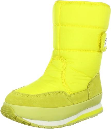 SnowJogger Classic Nylon Neon Boots