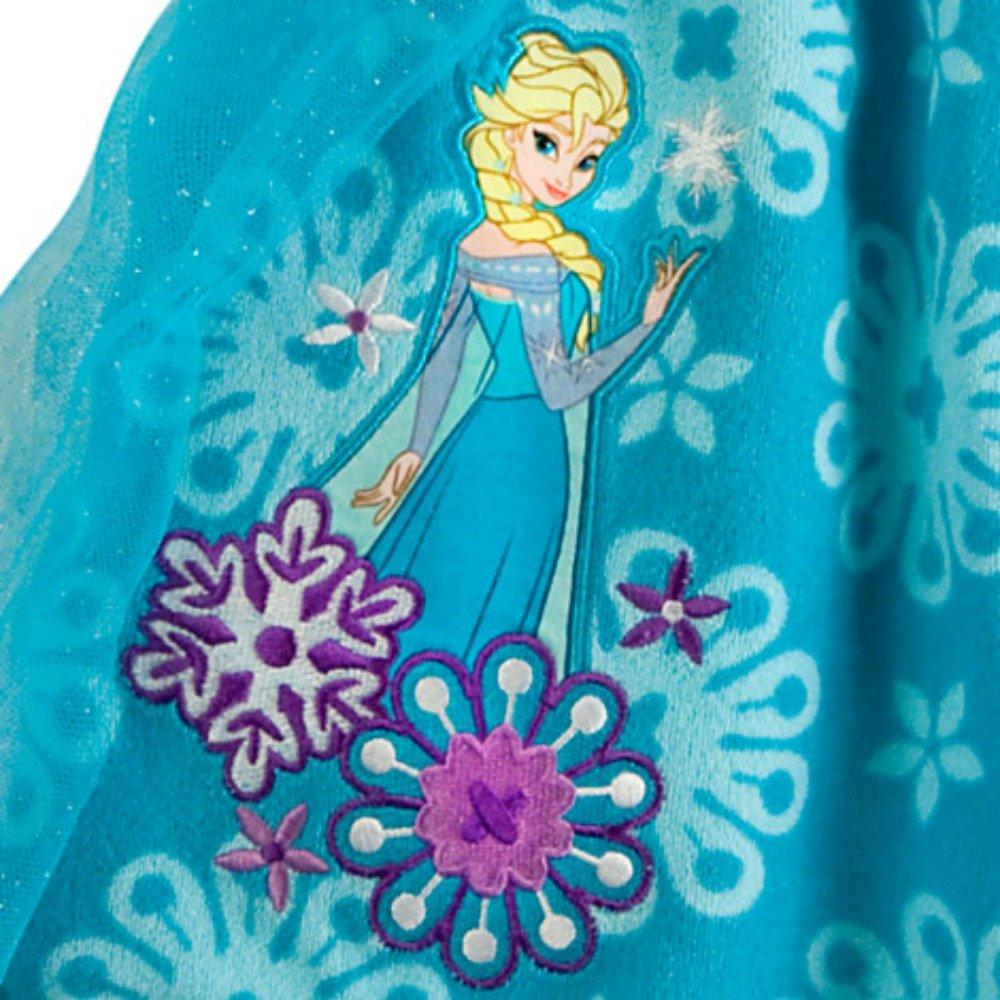 Disney Elsa Frozen Swim Cover-Up for Girls DISFROZCOVERUP