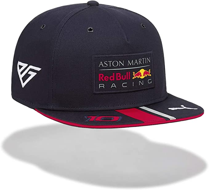Red Bull Racing Aston Martin Pierre Gasly Kids Flatbrim Cap 2019 ...