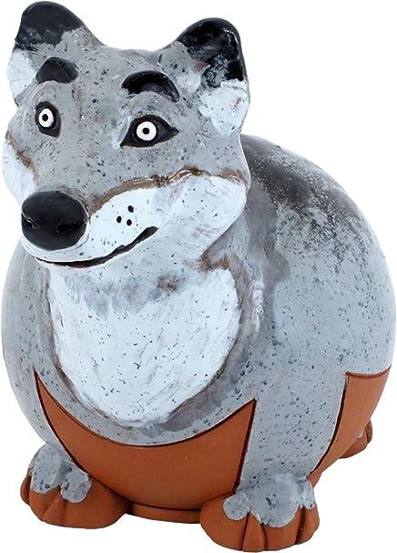 G.W. Schleidt Terra Pals Wolf Outdoor Statue Garden Art