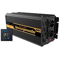 EDECOA Inversor 12v 220v convertidor 2000w onda modificada
