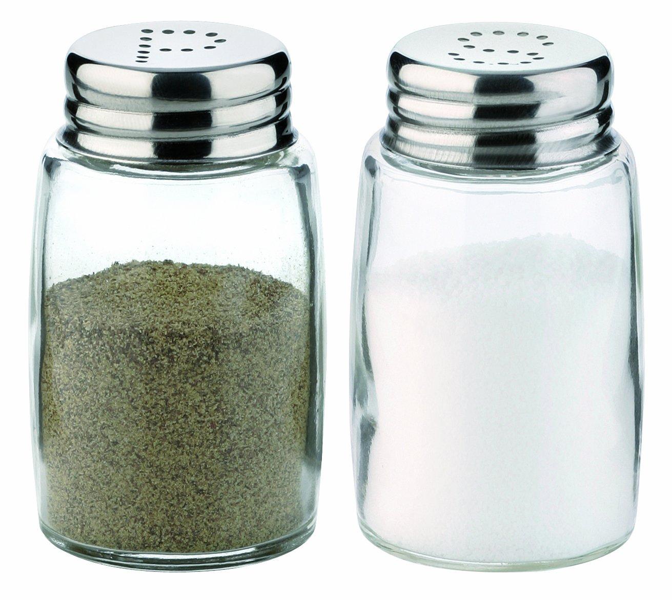 Tescoma 654010 Classic Salt Shaker And Pepper Pot Ebay