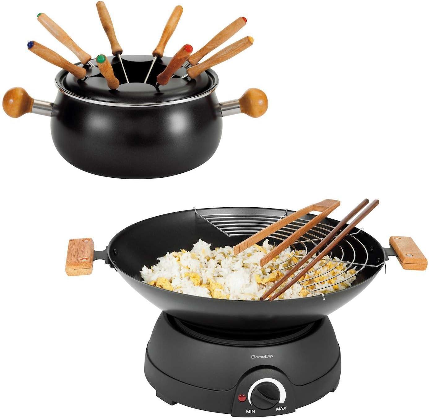 Electric Wok and Fondue Set