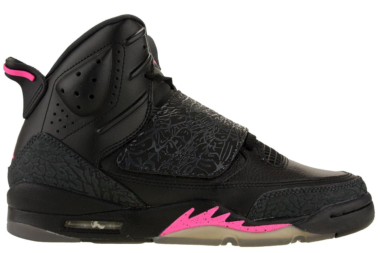 new product 13741 acf52 Amazon.com  Jordan Nike Youth Air Son of Mars Girls Basketball Shoes Black Hyper  Pink 512242-009 Size 8  Jordan  Shoes