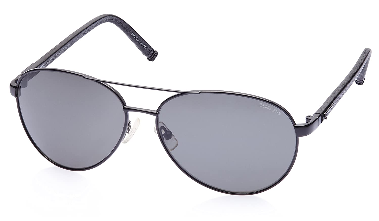 df2155f72ad Tumi Aviator Sunglasses (Newport-Black)  Amazon.in  Clothing   Accessories