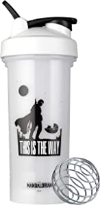 BlenderBottle Star Wars Pro Series 28-Ounce Shaker Bottle, This Is The Way