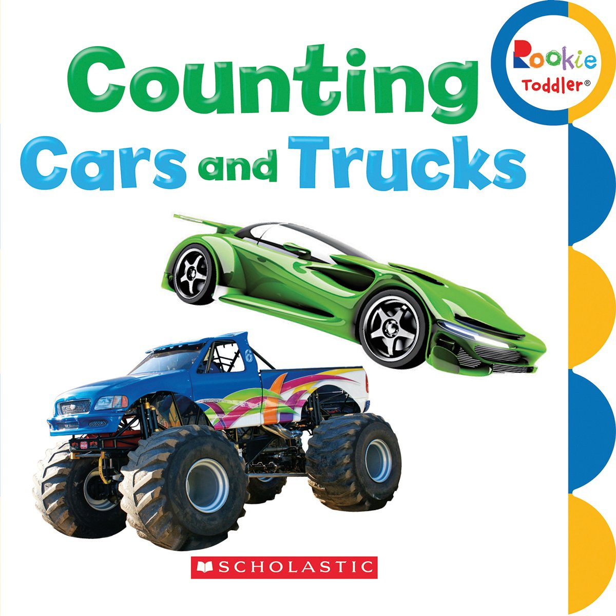 Amazon.com: Counting Cars and Trucks (Rookie Toddlers ...