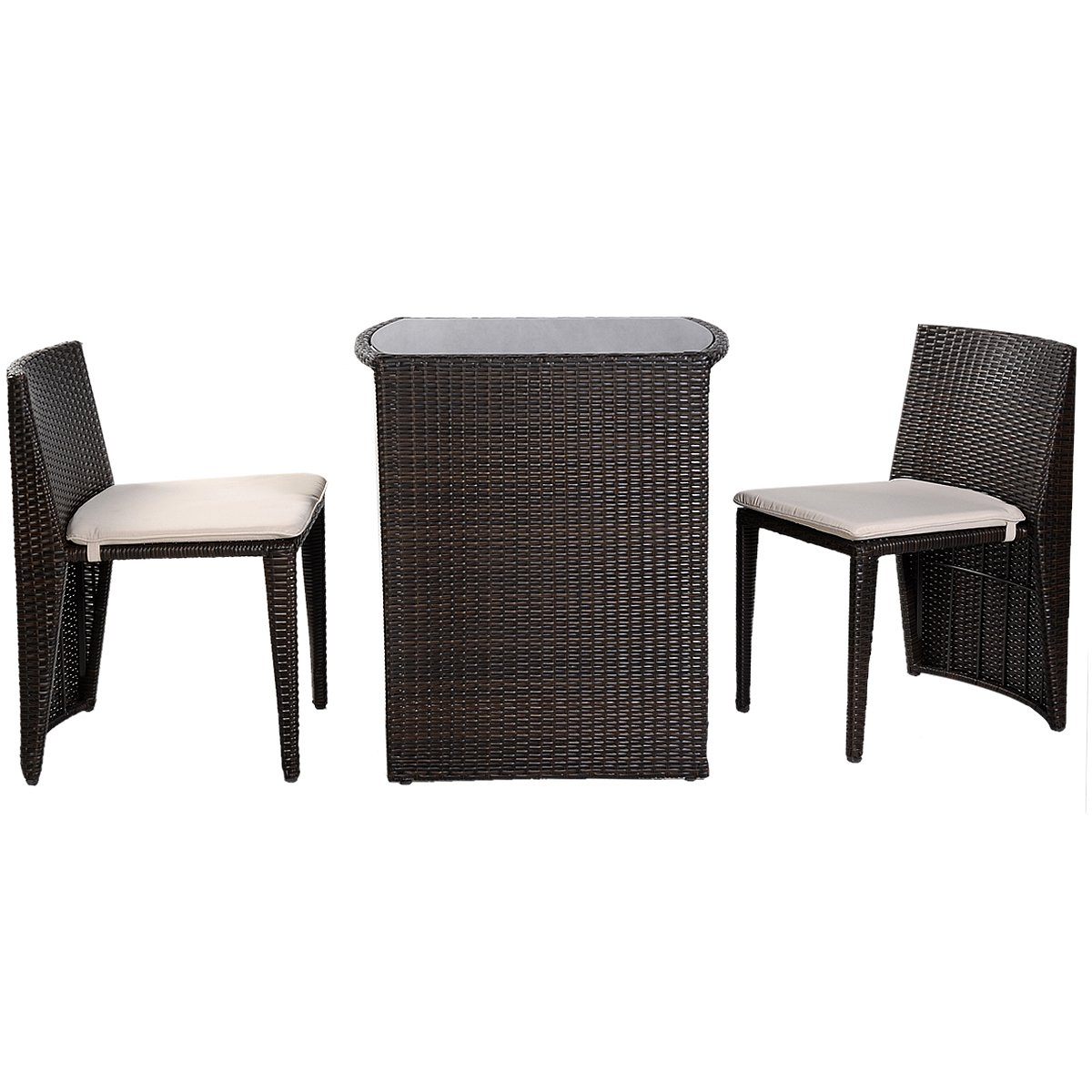 gartenm bel rattan set lounge set polyrattan sitzgruppe rattanm bel garnitur garten online kaufen. Black Bedroom Furniture Sets. Home Design Ideas